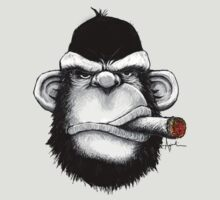 Cigar Monkey by kagcaoili