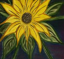 SunFlower - i am by Donna  Caruso