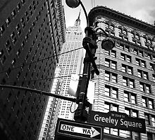 Down town NYC by Paul Brownless