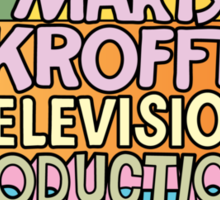 Sid & Marty Krofft Productions Sticker
