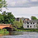 Bridge Over The River Teith,Callander,Scotland by Jim Wilson