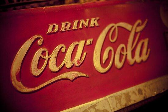 Vintage Coca-Cola by Angel Benavides