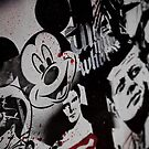 Mickey Mouse is dead by Angel Benavides