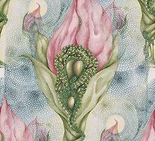 Floribunda Amamus Seamless by Helena Wilsen - Saunders