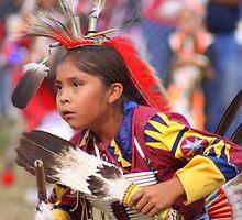 Young Powwow Dancer by rwilks