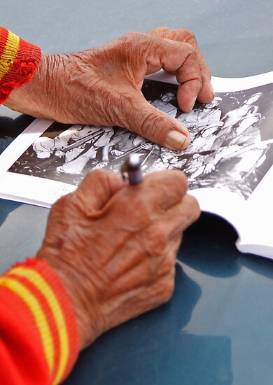 Code Talker Autograph by rwilks