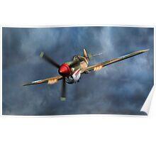 Flying Tiger P40 Warhawk Poster