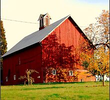 Big Red Barn  by Queen