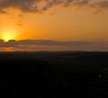 A greenbelt Sunset by Roschetzky