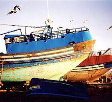 Fishing boats, Essaouira, Morocco by Shulie1