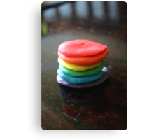 Playdough Pancake Canvas Print