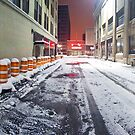 SIDEWALK CLOSED - Rochester NY by mindrelic