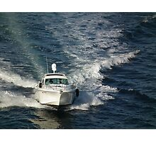 Boating on Sydney harbour Photographic Print