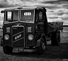 1951 ERF LK44 B&W by David J Knight