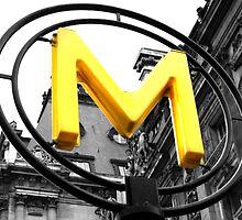 Metro Sign - Paris - EmmyLeePhotografee by emmylee