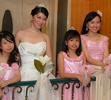 bride's maid, wedding and flower girl gown design 6 by walterericsy