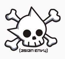 Astro Skull - Asian Envy by Steve Edwards