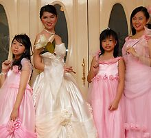 bride's maid, wedding and flower girl gown design 7 by walterericsy