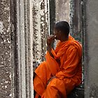 Cambodian contemplation by JulieKyte