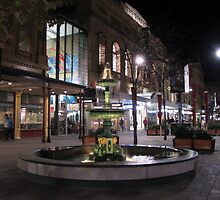Mall @ night/Adelaide by Judy52