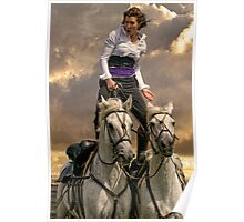 The Horsewoman Poster