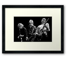 Rockin' all over the World Framed Print
