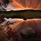 Afterglow at Loch Trool by 135mmf2