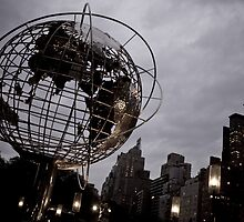 Columbus Circle by Diane Robertson