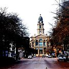 Tarrent County Courthouse, Fort Worth, Texas  by Charles Buchanan