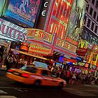 New York Time Square by Hanzal