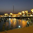 Reflections along the waterfront in Kuwait City by Joyce Knorz