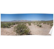 Approach to Death Valley Poster