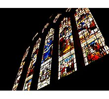 Stained glass wonder Photographic Print