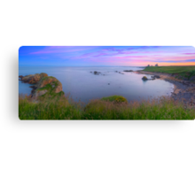 Newark Castle Sunset - St Monans Fife Canvas Print