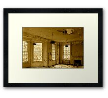 West Park - Decay Framed Print