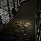 Eiffel tower stairs by Laurent Hunziker