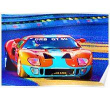 DRB GT40 Poster