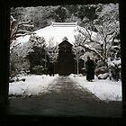 zen temple, winter by Ljikob