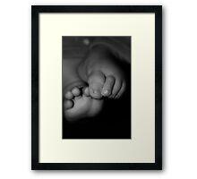Little Toes Framed Print