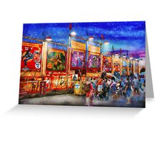 Carnival - World of Wonders Greeting Card