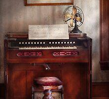 Musician - Organist - My Grandmothers organ by Mike  Savad