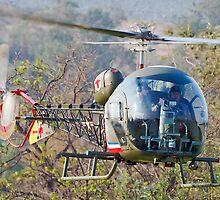 Bell 47 Inbound by gfydad