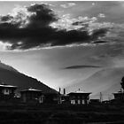 Village in Bhutan by Wanagi Zable-Andrews