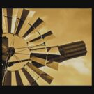 Windmill in Sepia special Edit for the lovely BEV xx by Coralie Plozza