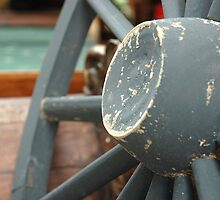 horse carriage wheel by bayu harsa