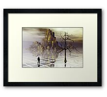 The traveler series:  #5 Framed Print