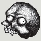 Crazy Skull (The Grouch) by Stack