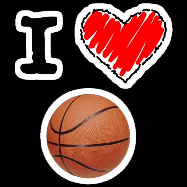 I Love Basketball by Lorie Warren