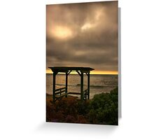A Place to Ponder Greeting Card