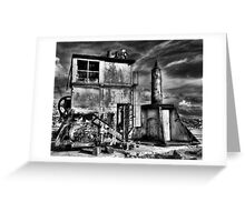 Apocalypse Crane - Cockatoo Island - Sydney - Australia Greeting Card